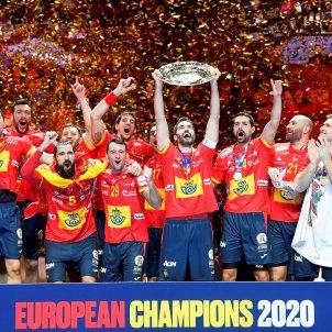 Espanya handbol campiona EFE