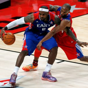 LeBron James Kobe Bryant EFE
