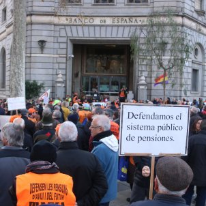 marea pensionistes manifestacio banc espanya ACN