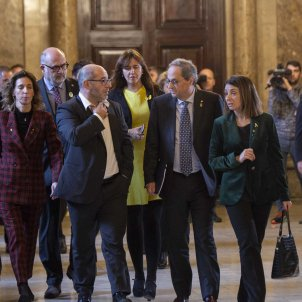 Torra Borras Budo Grup Parlamentari JxCat Ple Parlament - Sergi Alcazar