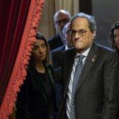 Torra convoca una declaració institucional després de la crisi amb ERC