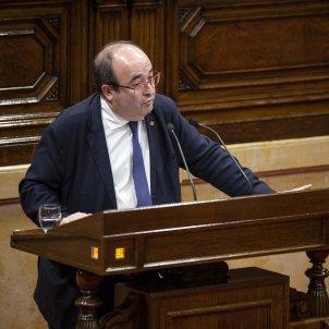 Miquel Iceta Ple Parlament - Sergi Alcazar