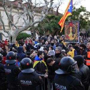 tensio mossos cdr parlament - sergi alcazar
