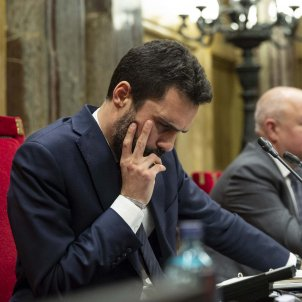 Roger Torrent Ple Parlament - Sergi Alcazar