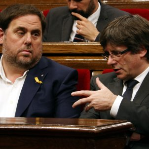 Carles Puigdemont Oriol Junqueras - ACN