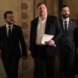 Junqueras Parlament comissió 155 4   Sergi Alcàzar