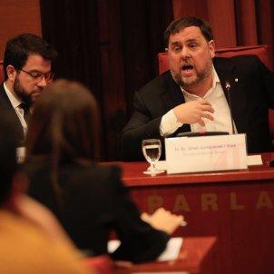 Junqueras, Roldan comissió 155 Parlament Sergi Alcàzar