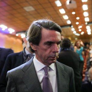 EuropaPress 2618034 El expresidente del Gobierno José María Aznar participa en el diálogo `España ante un cambio de régimen´ en el Auditorio de la Universidad Francisco de Vitoria en Madrid (España) a 28 de