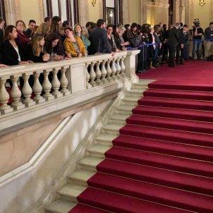 ELNACIONAL Dipuatts independentistes escales parlament compareixença presos - Sergi Alcàzar