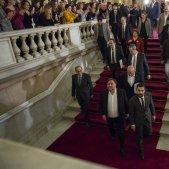 """El retorn dels presos al Parlament: """"No ha estat fàcil"""""""
