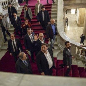 Torra Torrent Presos Politics Junqueras Bassa Turull Rull Romeva Forn Comissio155  Parlament - Sergi Alcazar
