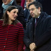 Josep Maria Bartomeu Barca Maria Teixidor Leganes EFE