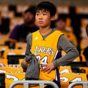 Kobe Bryant homenatge EFE