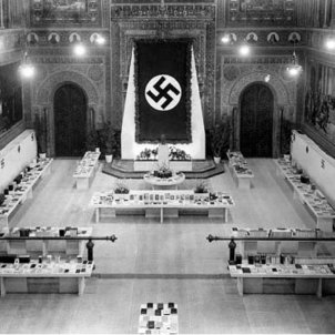 Lazar arriba a Barcelona per a intensificar la campanya de premsa pro nazi Font Ajuntament de Barcelona