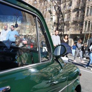 Protesta contra la zona de baixes emissions ZBE a Barcelona ACN
