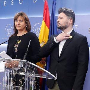 Laura Borràs Gabriel Rufián EFE