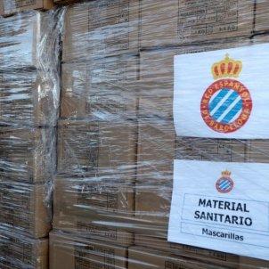 Caixes coronavirus Espanyol @RCDEspanyol