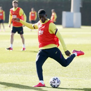 Dembélé entrenament Barça FC Barcelona
