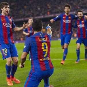 Luis Suárez gol 2 Barça Atlètic de Madrid Efe